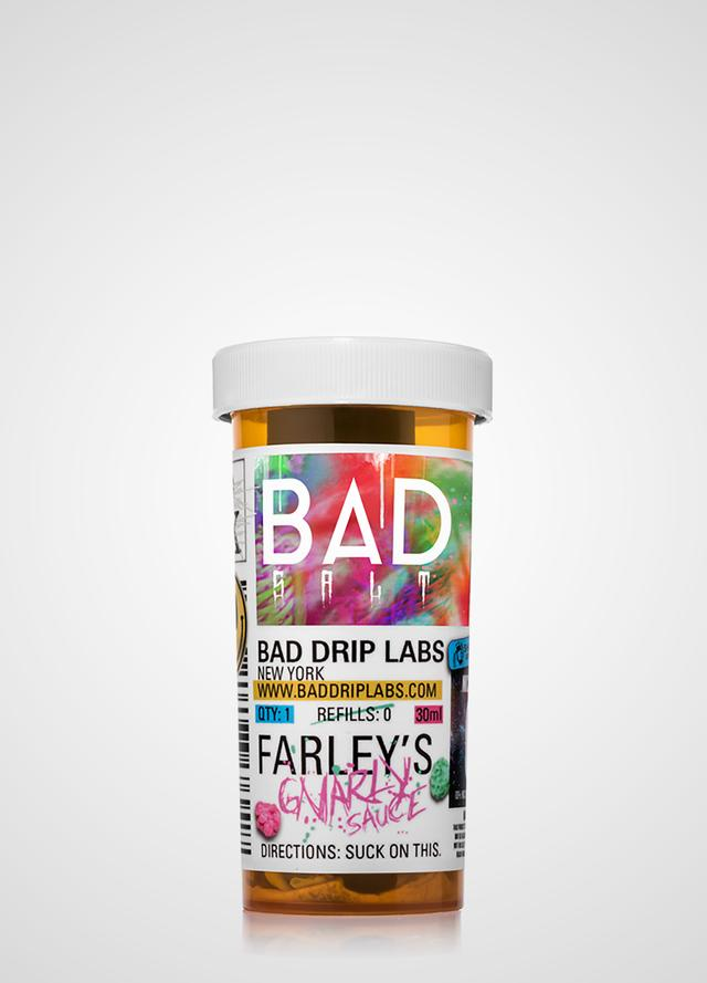 Bad Drip Salts: Farley's Gnarly Sauce 30ml - Shag Alternative Superstore