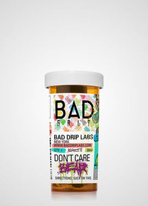 Bad Drip Salts: Don't Care Bear 30ml - Shag Alternative Superstore