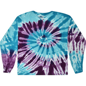 Barbados Long Sleeve Tie Dye T-Shirt