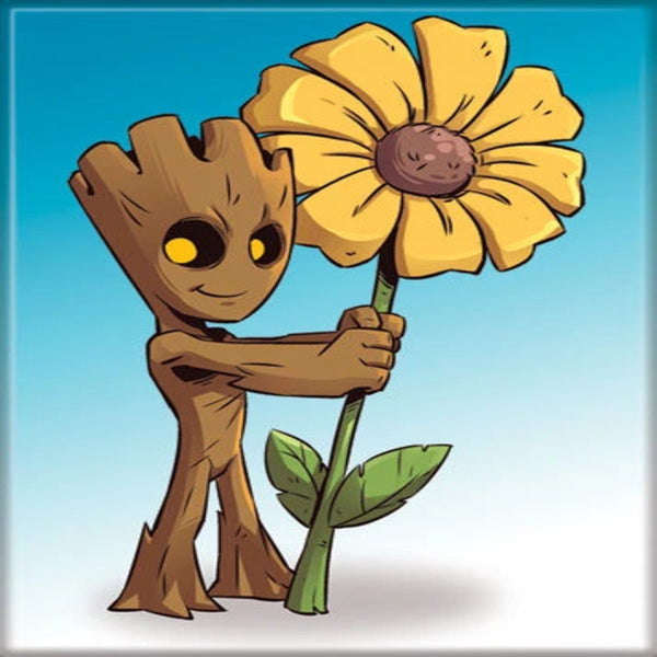 Groot and Daisy Magnet - Shag Alternative Superstore