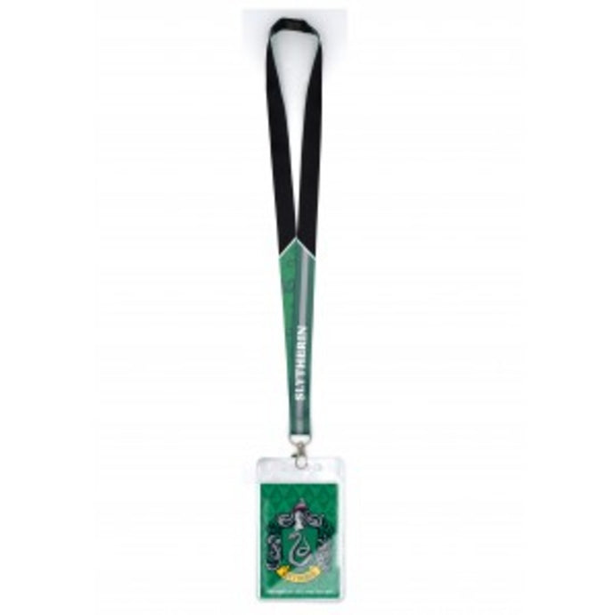 Harry Potter Slytherin Crest Lanyard With Card Holder