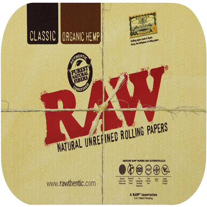 Raw Rolling Tray Magnetic Cover - Large (13.25x10.75