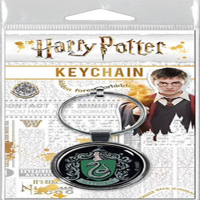 Harry Potter - Slytherin Crest Keychain