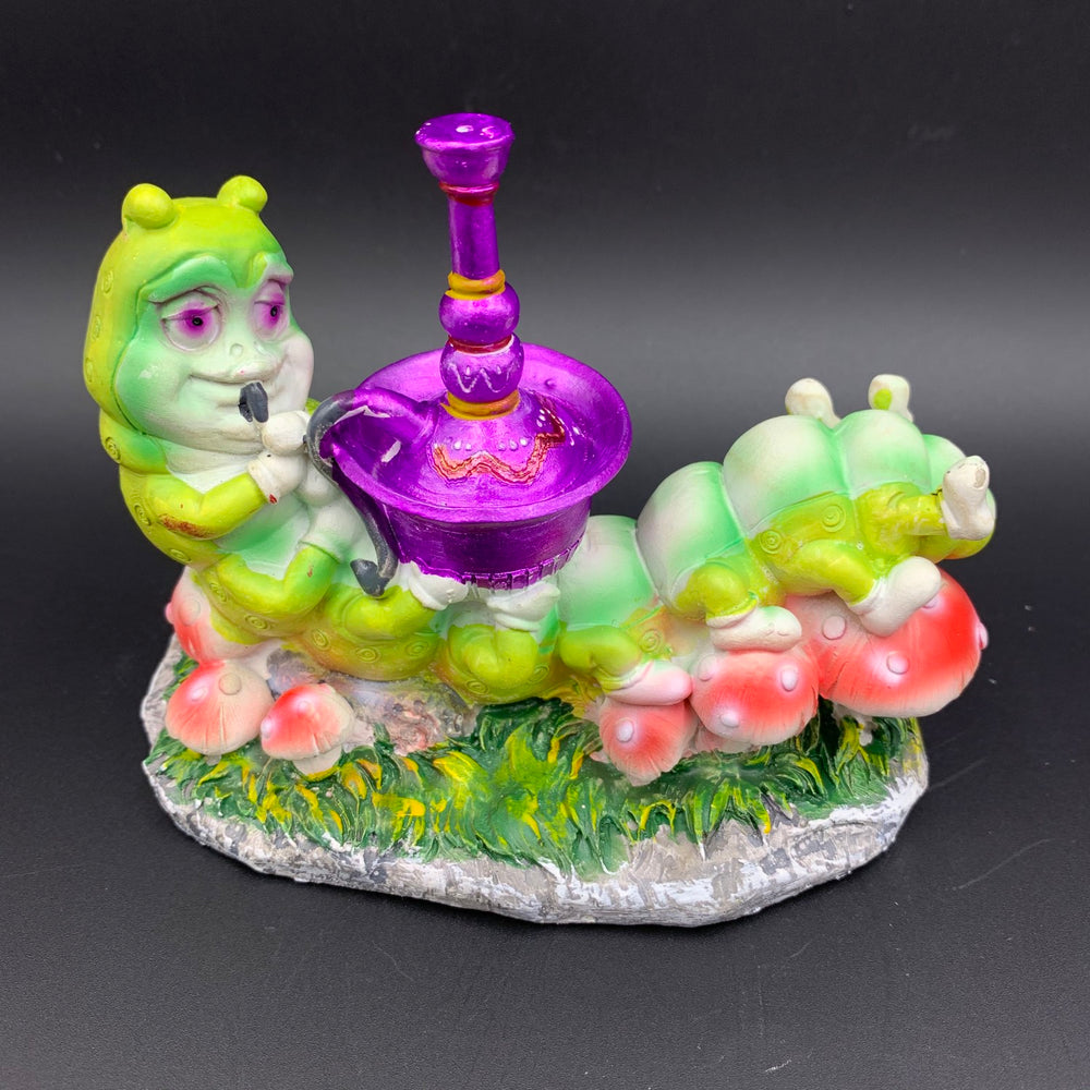 Caterpillar with Hookah Incense Burner - Shag Alternative Superstore