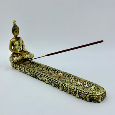 Thai Buddha Bronze Incense Burner - Shag Alternative Superstore