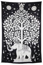 "Load image into Gallery viewer, Elephant Tree Tapestry (52""x80"") - Shag Alternative Superstore"