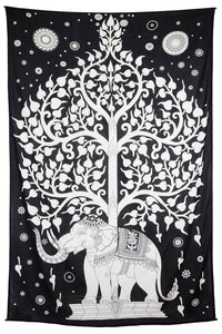 "Elephant Tree Tapestry (52""x80"") - Shag Alternative Superstore"