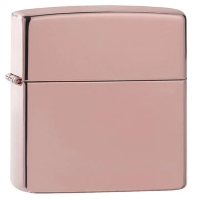 Classic High Polished Rose Gold Zippo Lighter