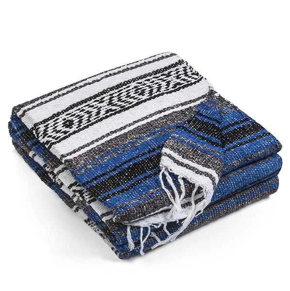 Striped Baja Blanket (5' x 6') - Shag Alternative Superstore