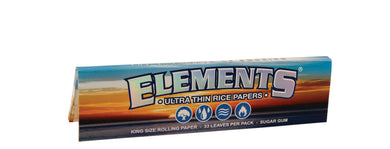 Elements Cigarette Rolling Papers - King Size - Shag Alternative Superstore
