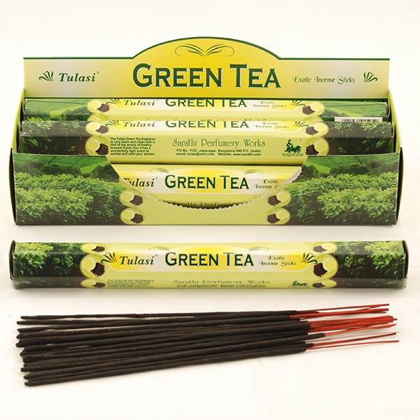 Green Tea Incense Sticks - (20 Pack) - Shag Alternative Superstore