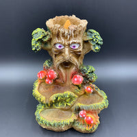 Mushroom Tree Man Backflow Incense Burner - Shag Alternative Superstore