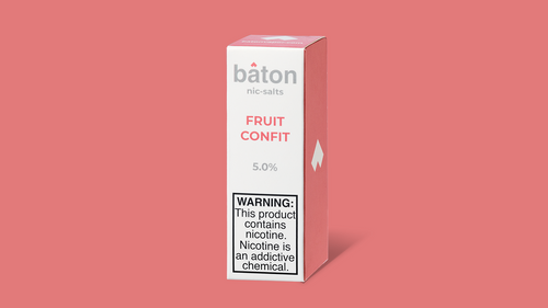 Baton Salts: Fruit Confit 10ml - Shag Alternative Superstore