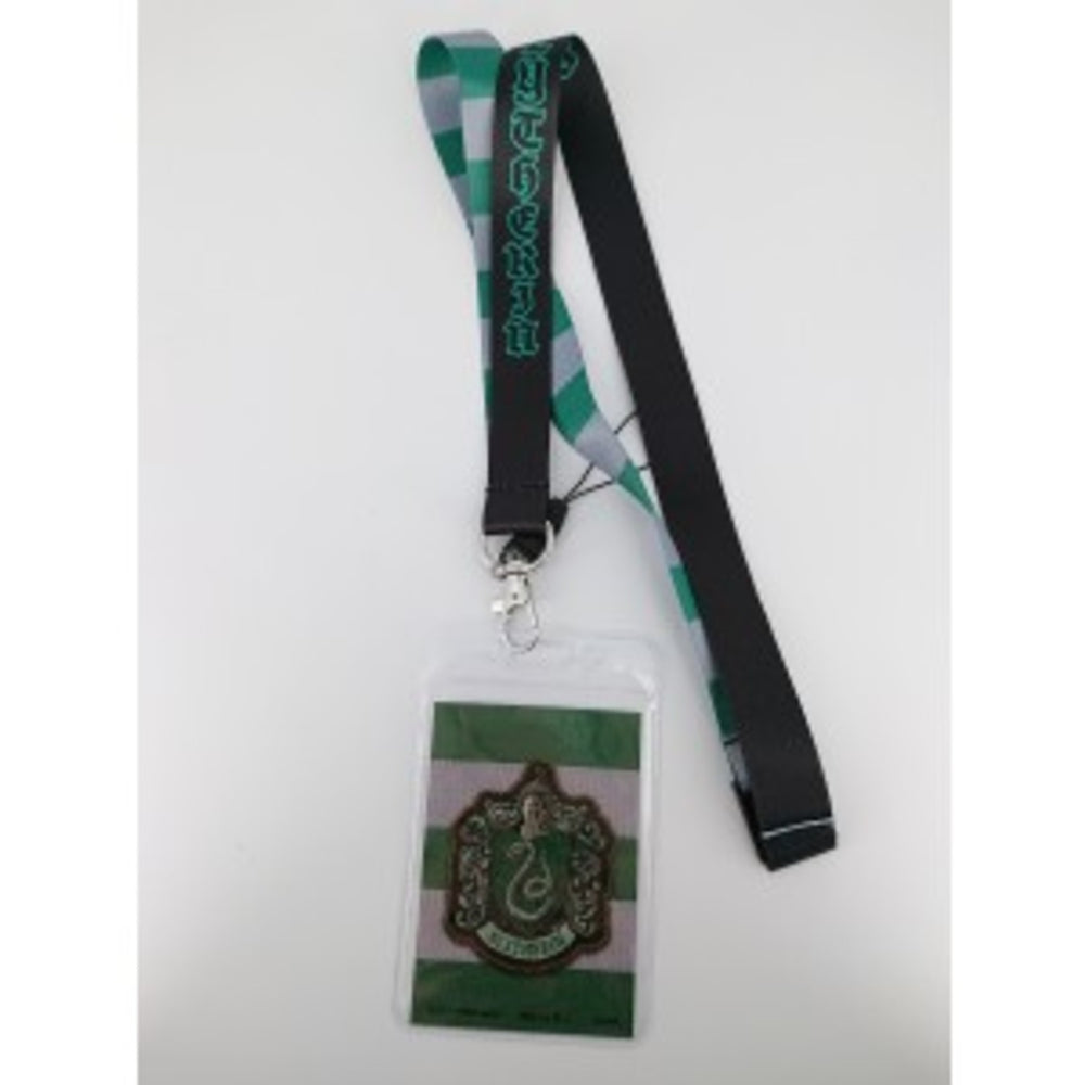 Harry Potter Slytherin Lanyard With Card Holder