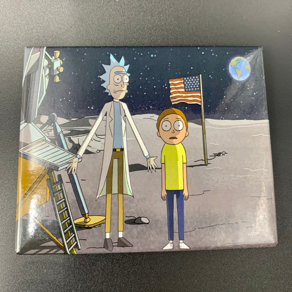 Rick and Morty Moon Magnet - Shag Alternative Superstore