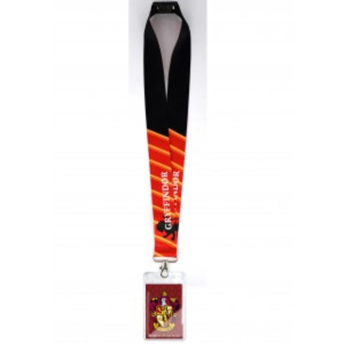 Harry Potter Gryffindor Deluxe Lanyard With Card Holder
