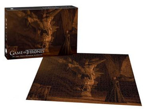 "Game of Thrones ""Balerion The Black Dread"" 1,000-Piece Puzzle - Shag Alternative Superstore"