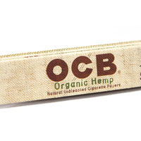 OCB Organic Hemp King Slim Papers + Tips - Shag Alternative Superstore