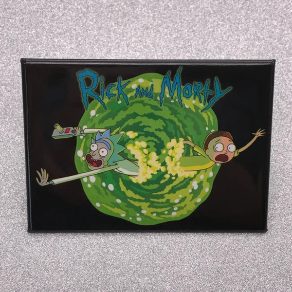 Rick and Morty Portal Magnet - Shag Alternative Superstore