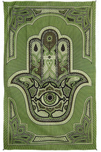 "Load image into Gallery viewer, Hamsa Hand Tapestry (52""x80"") - Assorted Colors - Shag Alternative Superstore"