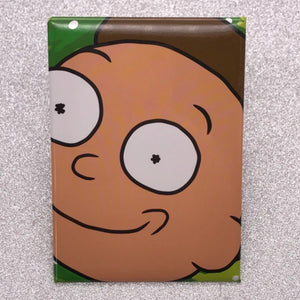 RIck and Morty Morty Face Magnet - Shag Alternative Superstore