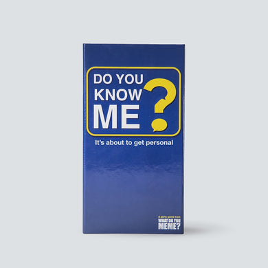 Do You Know Me? Party Game - Shag Alternative Superstore