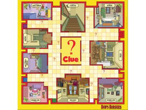 CLUE: Bob's Burgers Edition - Shag Alternative Superstore