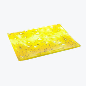 Dab Slab Glass Rolling Tray - Small - Shag Alternative Superstore