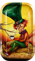 Mad Hatter Metal Rolling Tray - Shag Alternative Superstore