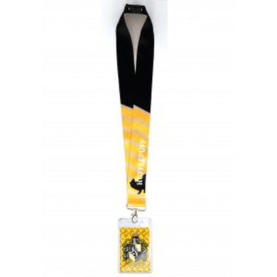 Harry Potter Hufflepuff Deluxe Lanyard with Card Holder