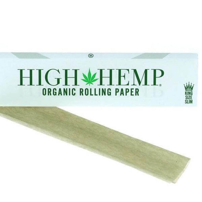 High Hemp King Size Slim Rolling Papers