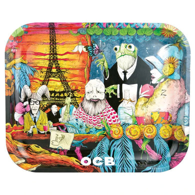 OCB Metal Rolling Trays - Cafe Culture - Shag Alternative Superstore