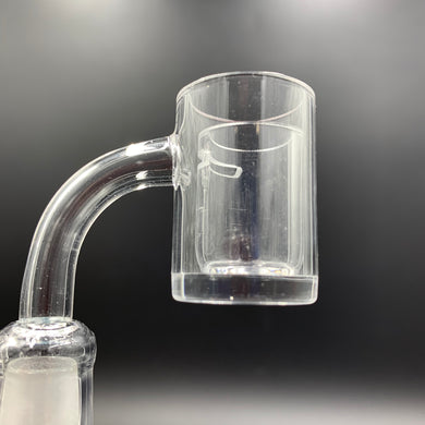 Flat Top Thick Base Quartz Banger & Cup Insert - Shag Alternative Superstore