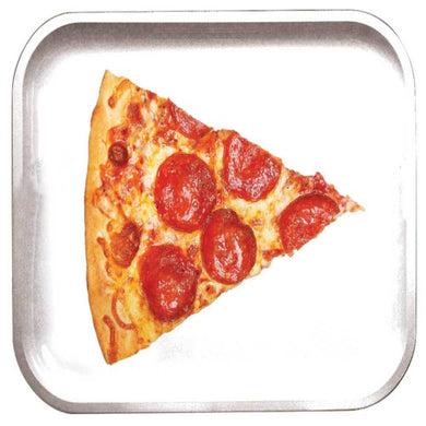 Pizza Slice Metal Rolling Tray - Shag Alternative Superstore
