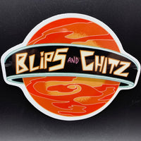 "Rick and Morty Blips & Chitz Sticker (5.5"" x 4.5"") - Shag Alternative Superstore"
