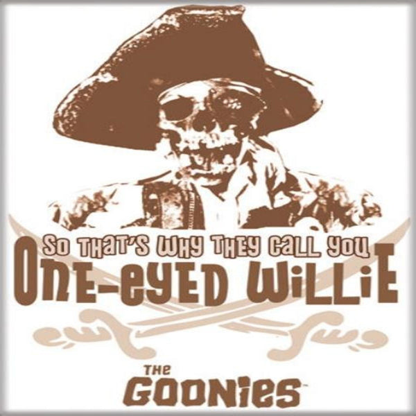 The Goonies One-Eyed Willie Magnet - Shag Alternative Superstore