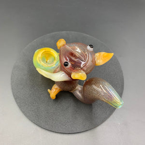 Squirrel Glass Pipe - Shag Alternative Superstore