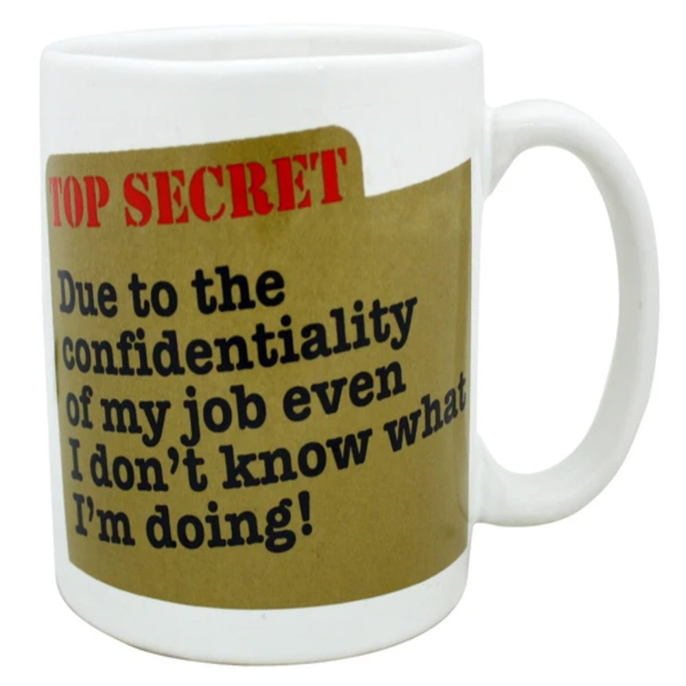 Top Secret 22oz Giant Mug