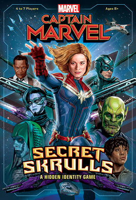 Captain Marvel: Secret Skrulls Hidden Identity Game - Shag Alternative Superstore