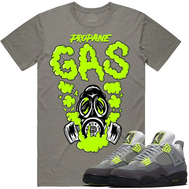 Planet of the Grapes Gas Silver w/ Neon T-Shirt - Shag Alternative Superstore