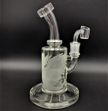 "Load image into Gallery viewer, Milky Way Glass Phoenix Rig (8"") - Shag Alternative Superstore"