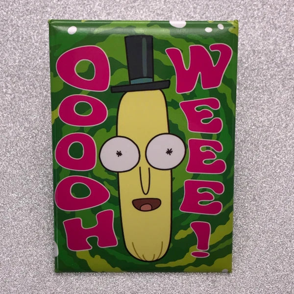 Rick and Morty Ooooh Weeee Face Magnet - Shag Alternative Superstore