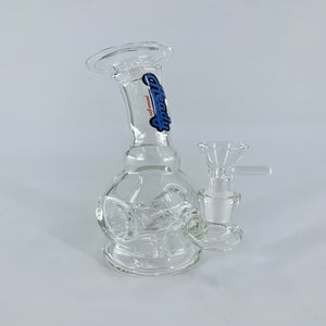 "Heady Brand Glass: Donut Water Pipe (6"")"