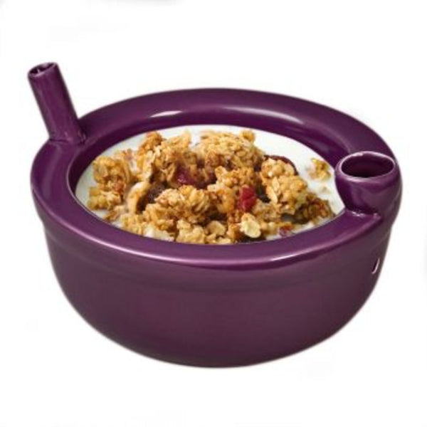 Roast and Toast Cereal Bowl - Purple - Shag Alternative Superstore