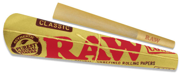 RAW Classic 1¼ Cones - Shag Alternative Superstore