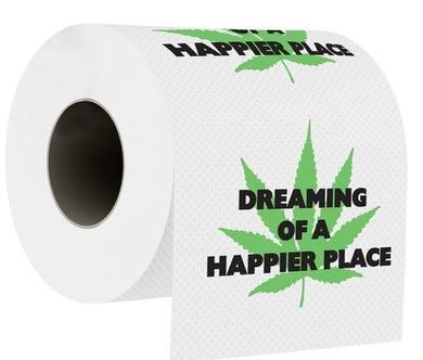 Dreaming Of A Happier Place Toilet Paper - Shag Alternative Superstore