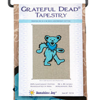 "Grateful Dead Bear Tapestry (52""x80"") - Shag Alternative Superstore"
