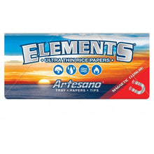 Load image into Gallery viewer, Elements Artesano King Size Slim Rolling Papers