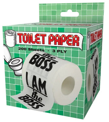 I Am The Boss Toilet Paper - Shag Alternative Superstore