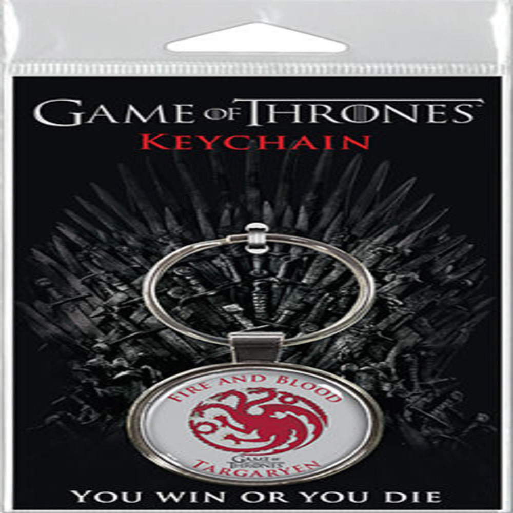 Game of Thrones - Targaryen Sigil Keychain
